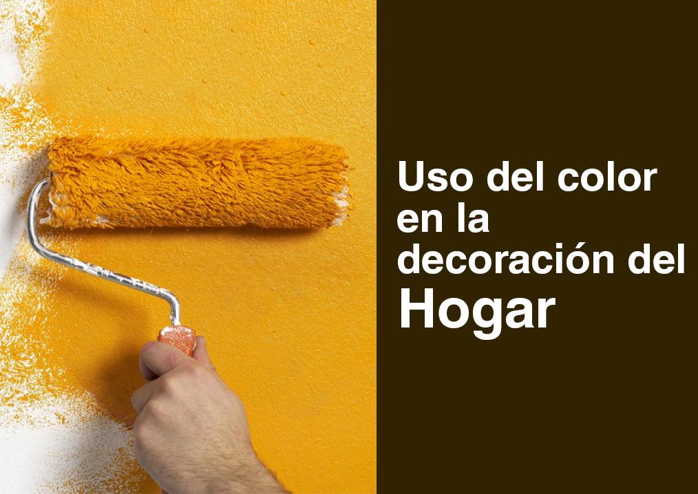 Como usar el color en la decoraci n de tu hogar urbicasa for Decoracion para el hogar 2016
